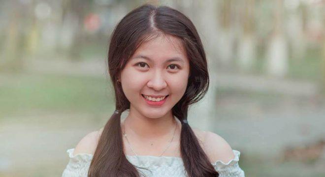 lovely cute girl improve smile
