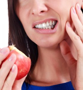 tooth sensitivity after cleaning or biting or drinking