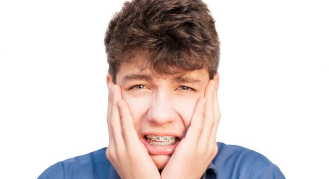 teeth pain from braces
