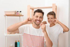 dental hygiene steps